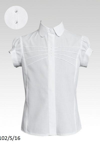 Блуза 102-S-16 к-р 128-158 Слай