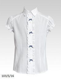 Блуза 103-S-16 к-р 128-158 Слай
