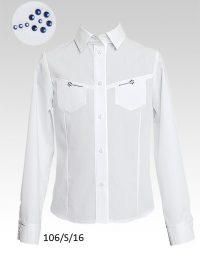 Блуза 106-S-16 д-р 128-158 Слай