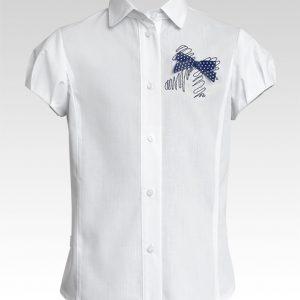 Блуза 114В-S-16 к-р 128-158 Слай
